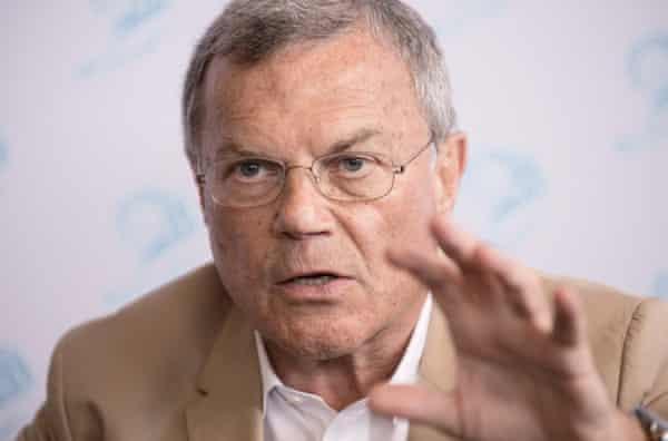 Martin Sorrell of WPP.