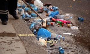 Clean up waste