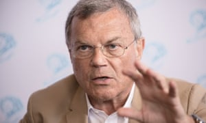 Sir Martin Sorrell: said sites such as Vice News were more attractive to young people