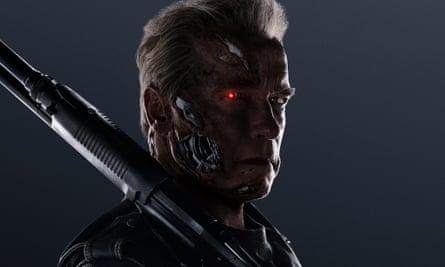 Back ... again. Arnold Schwarzenegger as the T-800 in Terminator Genisys