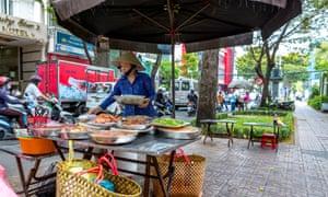 Saigon street food Vietnam
