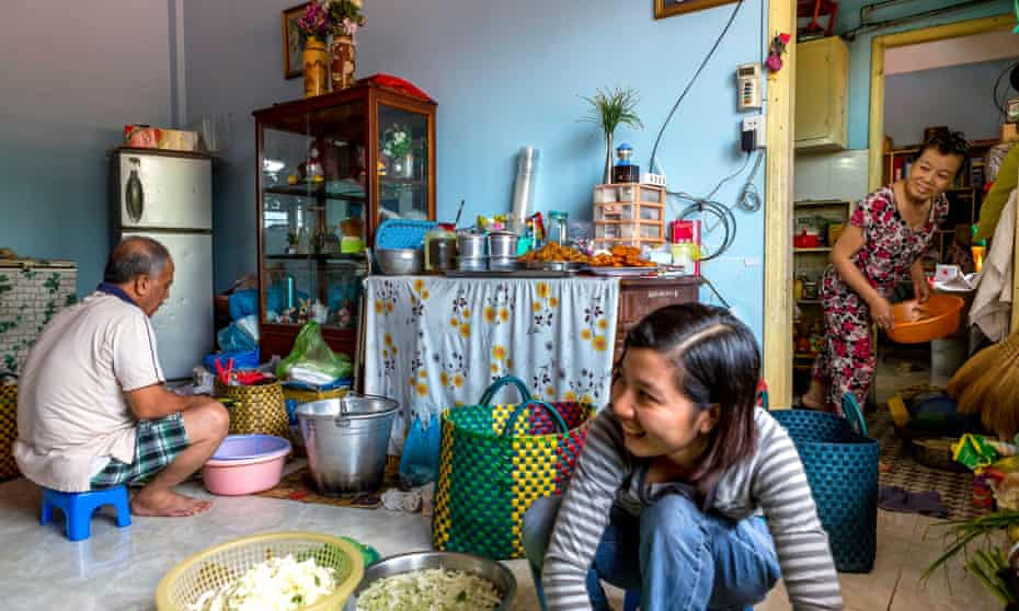 Family food business Vietnam