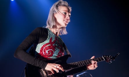 Annie Clark - aka St Vincent - at the Roundhouse in London in October 2014.