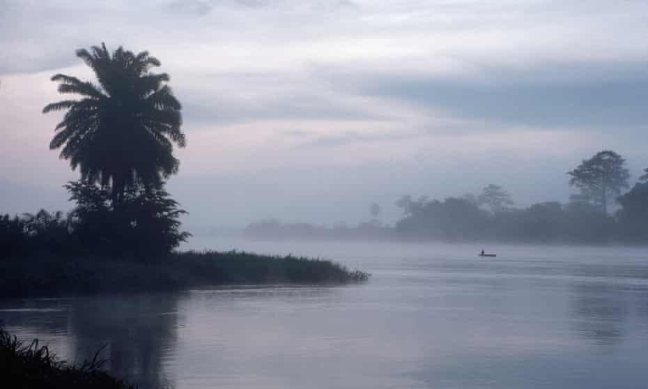 The Congo river.