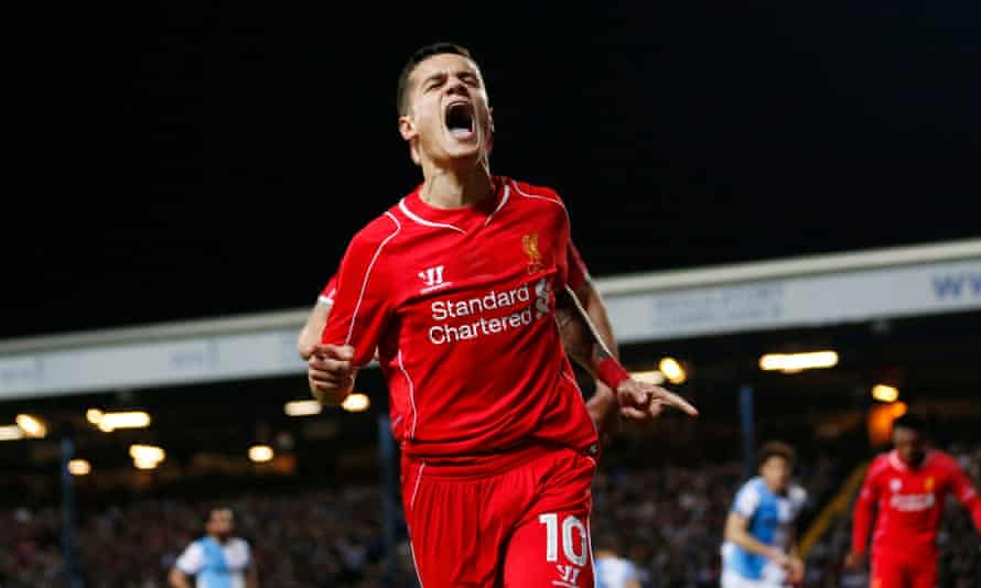 Philippe Coutinho is another possible future Liverpool captain.