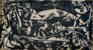 Number 14, 1951, by Jackson Pollock.