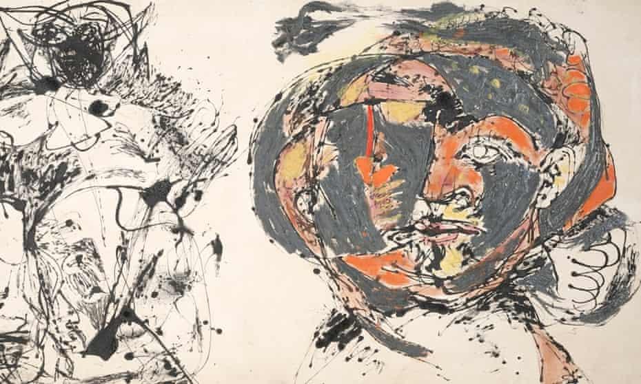Jackson Pollock, Portrait and a Dream 1953