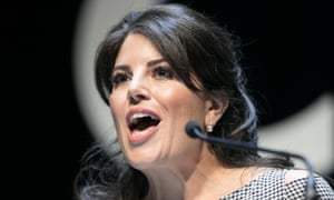Monica Lewinsky at the Cannes Lions festival