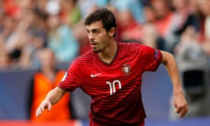 Portugal's Bernardo Silva has picked up two man-of-the-match awards at the European Under-21 Championship