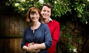 Adrian Turpin and his wife Pru.