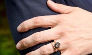 Adrian Turpin engagement ring