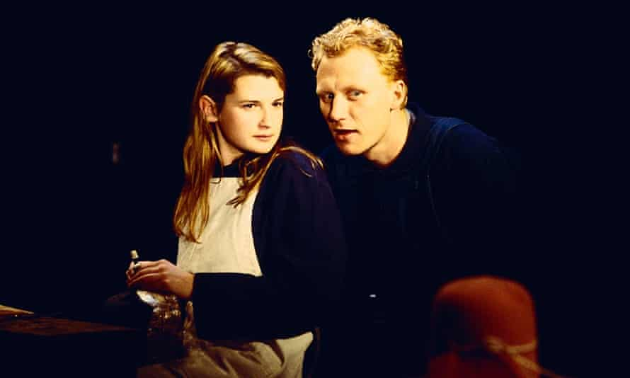 Suspicious mind … Katherine Tozer and Kevin McKidd in Far Away, 2000.