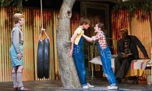 the stage version of To Kill a Mockingbird currently running at the Barbican in London.