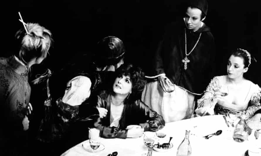 Table talk … Top Girls at Royal Court, 1982.