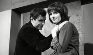 Elizabeth MacLennan with Ian McShane in The Truth About Alan, an ITV Play of the Week, 1963
