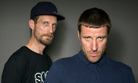 Jason Williamson and Andrew Fearn of Sleaford Mods.