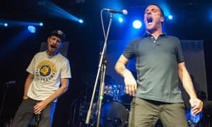 Sleaford Mods on stage at Oran Mor in Glasgow last November.