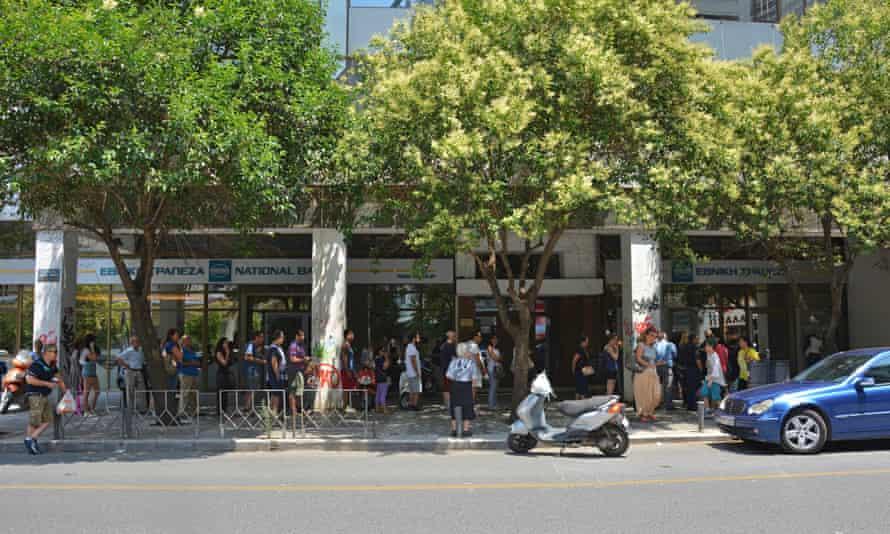 Greek bank run