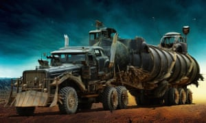 Furiosa's War Rig, the most prominent of the film's extensively modified monstrosities.