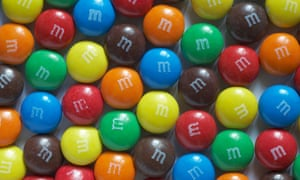 'A bowl of mixed M&Ms will go down more quickly than a bowl of just one colour'