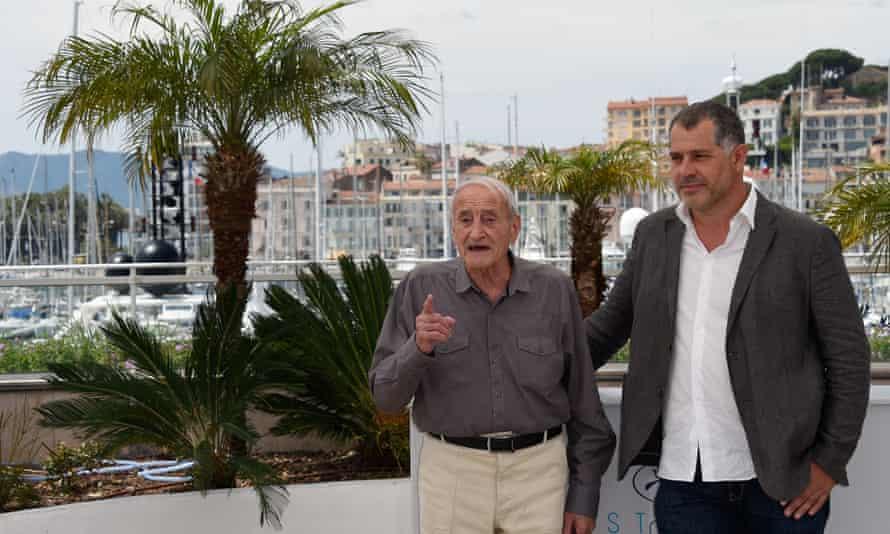 Luc Jacquet and Claude Lorius.