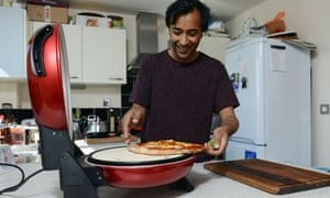 Rhik Samadder tests the pizza oven