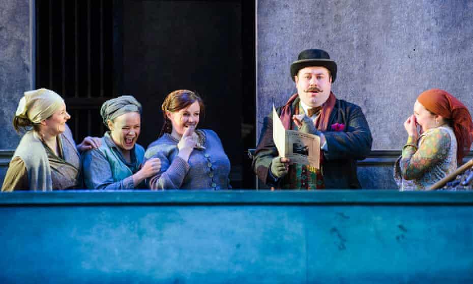 Il Tabarro from Puccini's Il Trittico by Opera Holland Park, June 2015.