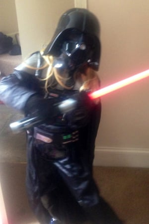 Izzy as Darth Vader