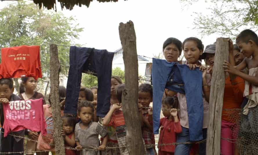 Film still from 2015 documentary True Cost.