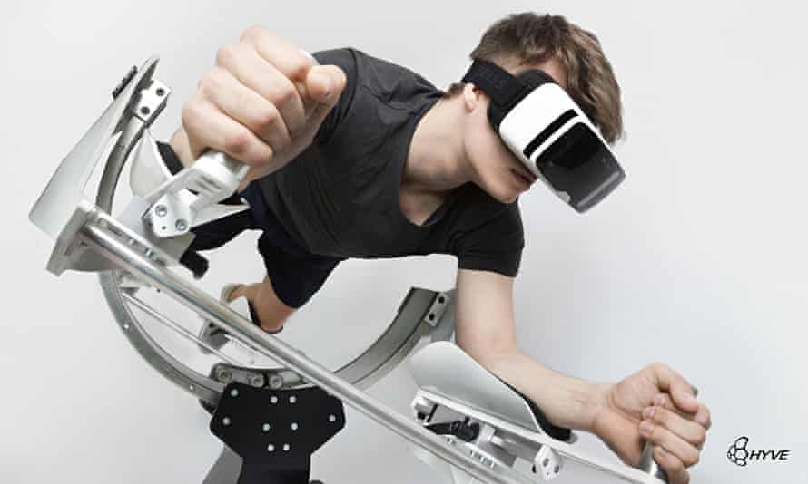 Icaros brings physical activity to a virtual experience.