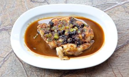 Chilli Sichuan chicken.