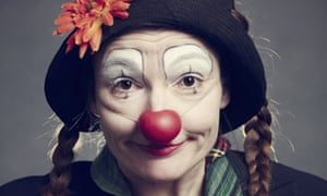'There is still the age of innocence': Helland the clown.