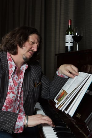 Jay Rayner photographed at The Rotunda, Kings Place, London for Guardian Membership.