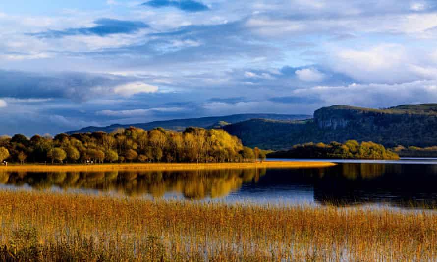 Lough MacNean in the Fermanagh Lakelands