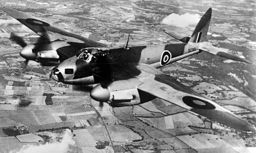 The De Havilland Mosquito set new standards with its plywood design.