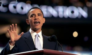 Barack Obama, then a candidate for the US Senate, told the 2004 Democratic convention that