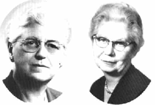 Pearl Kendrick and Grace Eldering