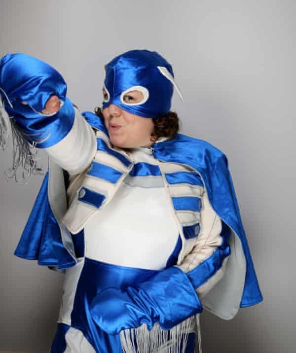 Jessica Thom as Tourette's Hero.