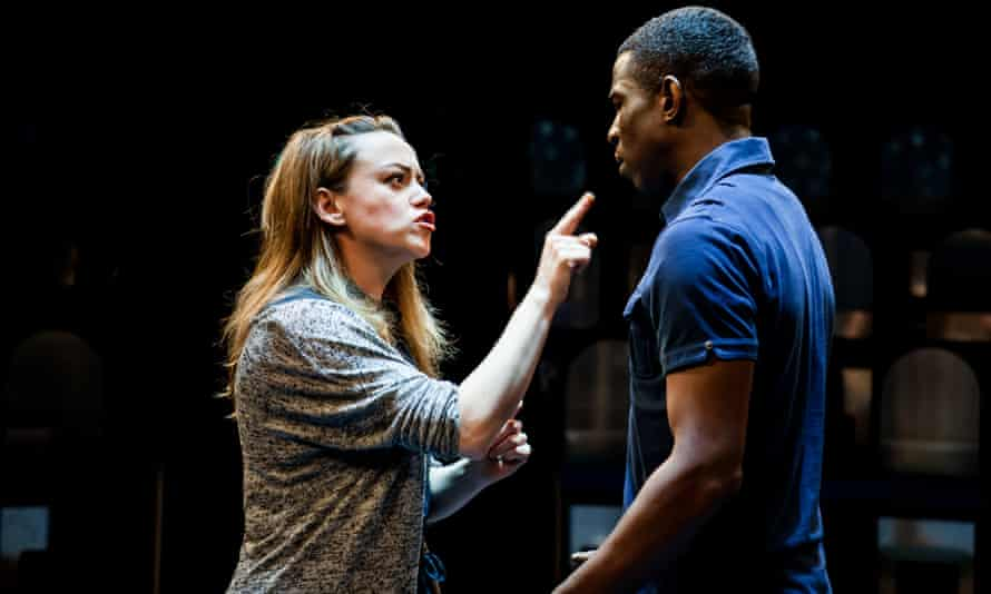 Sian Reese-Williams and Abdul Salis in Lungs.