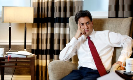 Ed Miliband at the Midland Hotel in Manchester before the party's annual conference.