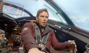 The Marvel index: Pratt as Peter Quill in Guardians Of The Galaxy.