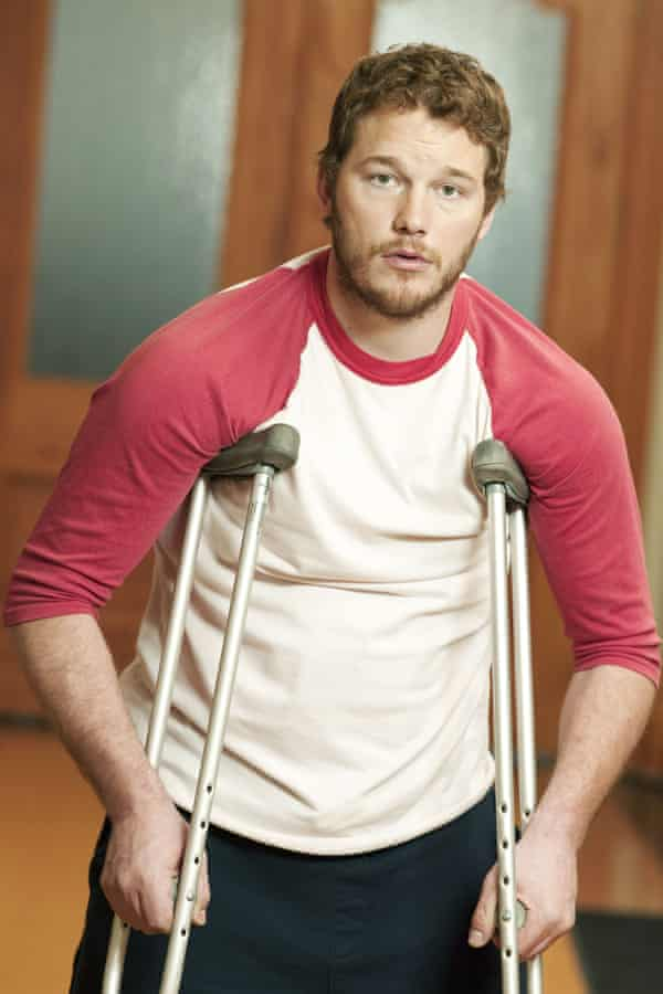 Lame man's terms: Pratt as Andy Dwyer in Parks And Recreation.