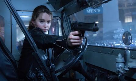 You're a Connor ... Emilia Clarke in Terminator Genisys