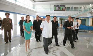 """Conspicuous by his absence from the delegation was the design director of the country's recent infrastructure drive: Ma Won-chun. The architect was among those those <a href=""""http://www.theguardian.com/world/2015/may/13/north-korea-execution-hyon-yong-chol-kim-jong-un"""">reportedly purged</a> in May 2015"""