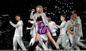 Taylor Swift performs in Philadelphia on her 1989 world tour.