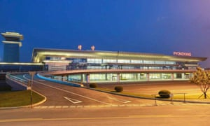 """The new terminal is not the only airport planned. Wonsan, on the east coast, is <a href=""""http://www.theguardian.com/world/2014/jul/23/north-korea-plans-underwater-hotel-wonsan-tourist-city"""">converting its military airport</a> for civilian use, alongside an underwater hotel, flower park and exposition centre. This, combined with the outward-facing design of Pyongyang's new terminal, is the most overt sign yet of the regime's increasing desire to attract foreign visitors – and foreign money"""