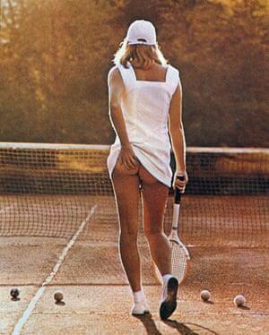 Tennis Girl by Martin Elliott, 1977