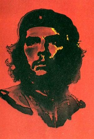 Che Guevara. Photograph: Alberto Korda 1960, two tone portrait by Jim Fitzpatrick, 1968