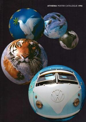 Athena catalogue cover, 1996