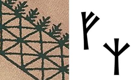 Kendall Jenne's carpet and Runestones